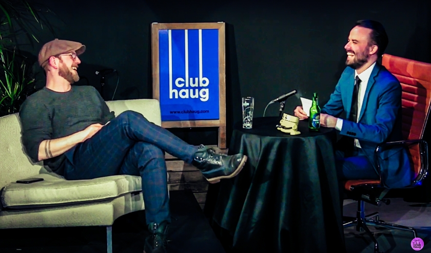 Kijktip: liveshow Spitfree Comedy van Comedy Club Haug. Foto: Debbie van Polanen Petel.