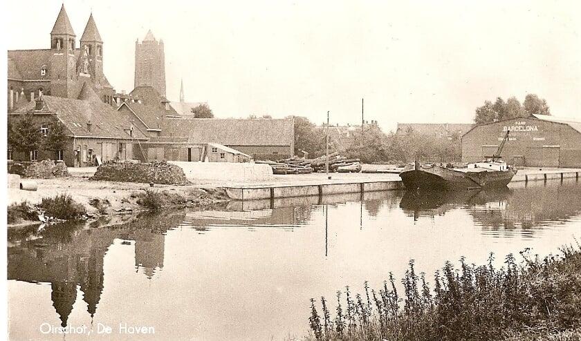 <p>De foto dateert van rond 1930. Foto en tekst: Heemkundekring &#39;De Heerlijkheid Oirschot&#39;</p>