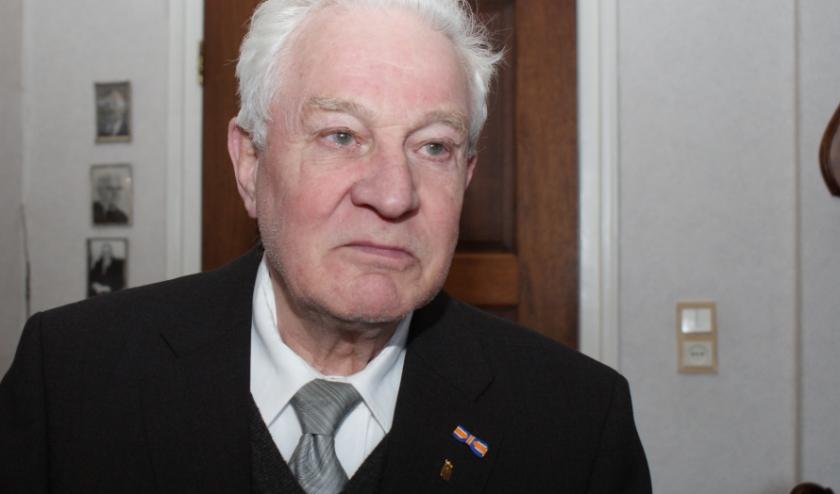 Voor zijn werk kreeg Hoegée een Koninklijke Onderscheiding en werd hij ereburger van Nieuwegein. Archieffoto: Anne-Marije Zwart