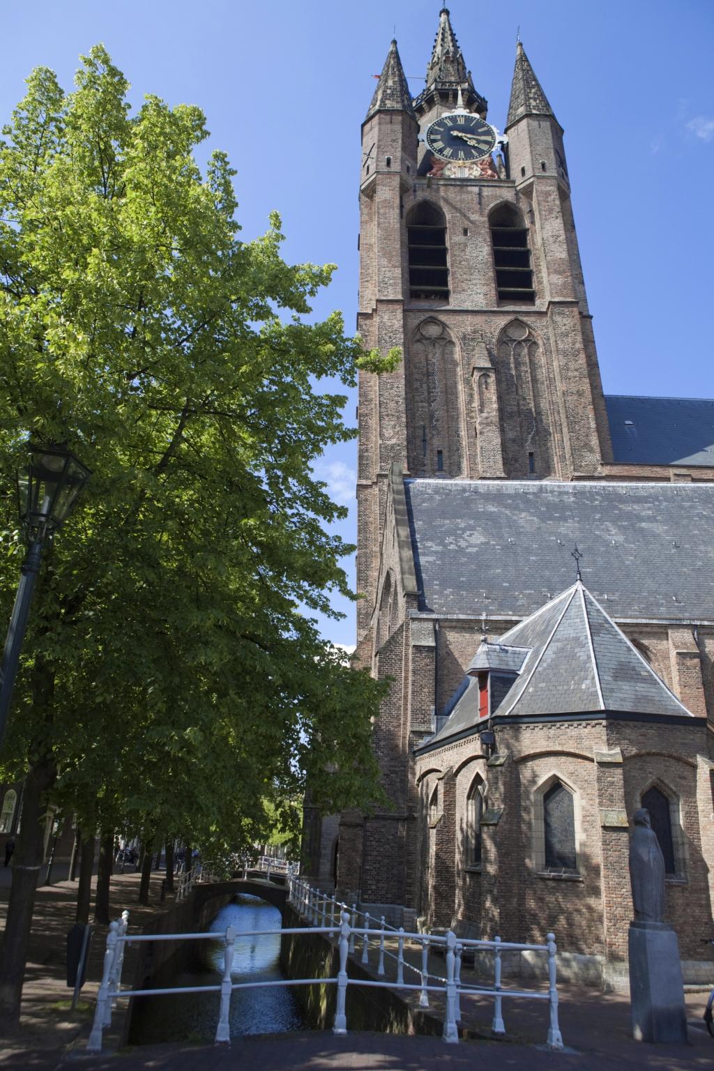De toren van de Oude Kerk