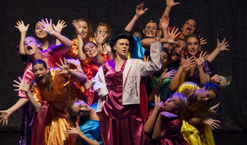 theatermaker Willem Gunneman gaat samen met de kinderen in Veluvine in één dag een voorstelling in elkaar gaat zetten en opvoeren.