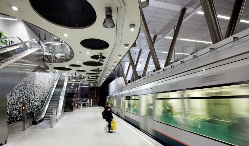 <p>De verwachting is dat het komende weken een stuk rustiger zal worden in de metro.</p>