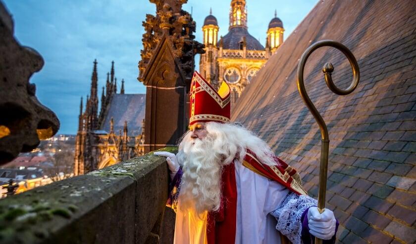 <p>Sinterklaas maakt dit jaar zijn opwachting &#39;coronaproof&#39; op televisie, in plaats van een &#39;live&#39; intocht Foto: Angeline Swinkels.</p>