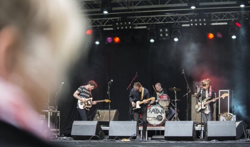 Het Epop Festival gaat dit jaar helaas niet door. Hier een archieffoto van één van de bands die ooit wel in het Loeffpark optrad: Rats On Rafts.