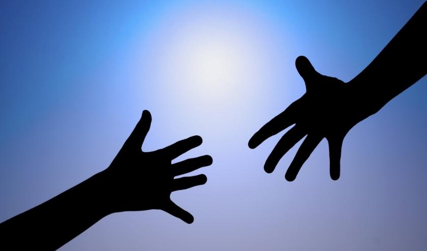 Een helpende hand maar dan online.