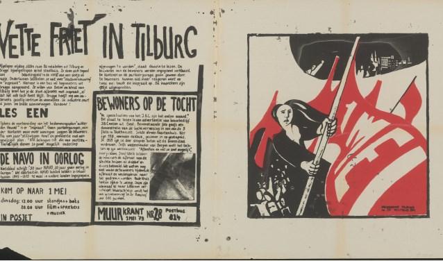 Nieuw Geen censuur op de muur! De Tilburgse muurkrant als inzending voor KN-82