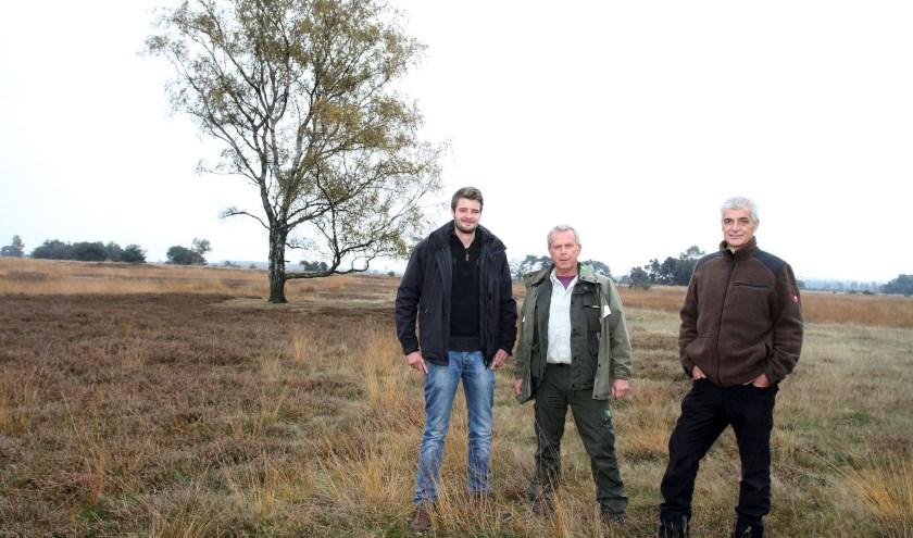 Van links naar rechts: Chris Meeuwsen, Jap Smits en Han Meeuwsen. Foto: Theo van Sambeek.
