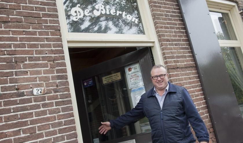 """Theo Bakker van De Nieuwe Bierton: """"De agenda staat vol met evenementen en optredens."""" (Foto: Eva Posthuma)"""