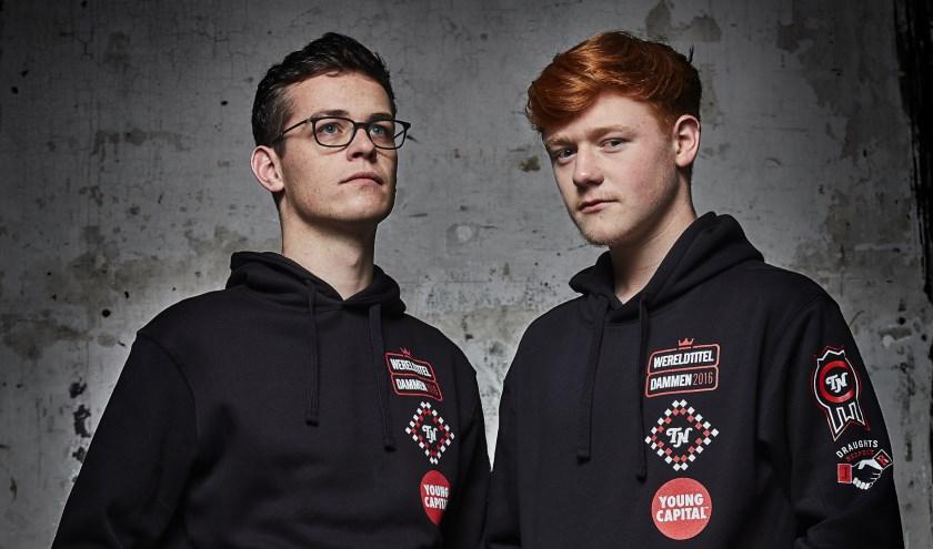 Roel Boomstra (links) en Jan Groenendijk. Foto: Bastiaan van Musscher.