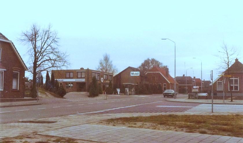 De Markeloseweg in Rijssen in 1979.