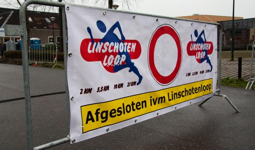 Sommige wegen en straten zijn tijdens de Linschotenloop een paar uur niet bereikbaar. De organisatie gaat er streng op toezien. (Foto: PR)