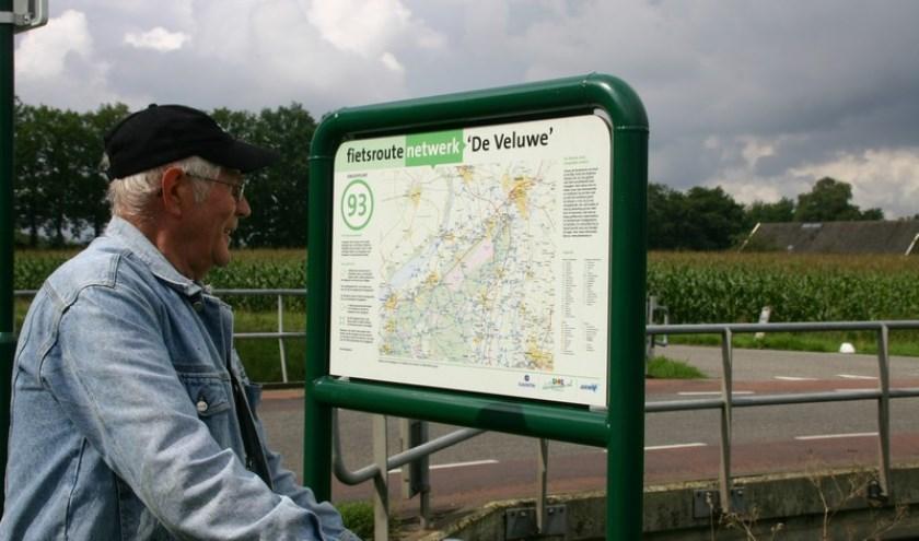 Lennep's Erf ligt aan de nieuwe fietsroute die in het gebied van de Hoogwatergeul uitgezet wordt.