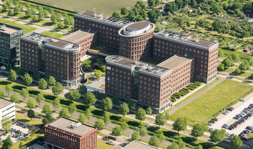 MeteoGroup huurt nu in totaal meer dan 2300 vierkante meter kantoorruimte, verdeeld over twee etages in het gebouw. Eigen foto