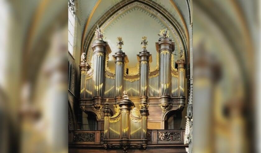 <p>Het orgel van Guillaume Robustelly, gebouwd in 1772 voor de abdij van Averbode en vanaf 1822 in de Helmondse St. Lambertuskerk.</p>