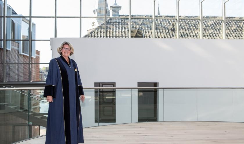 """Marianne van Eijk: """"Dit werk kun je alleen doen met oprechte interesse voor de ander."""" (foto Cees Beumer)"""