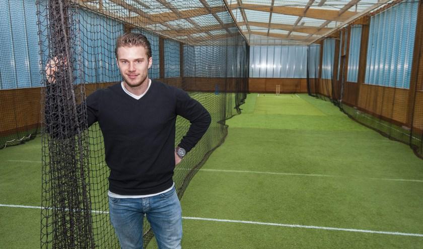 Tim de Kok is enthousiast over de nieuwe indoor-accommodatie van Sparta. (Foto: wijntjesfotografie.nl)