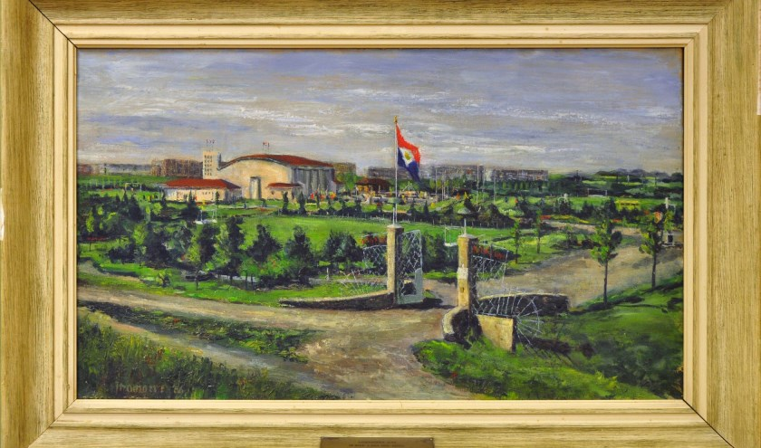 Het schilderij is te zien in Museum Vlaardingen.