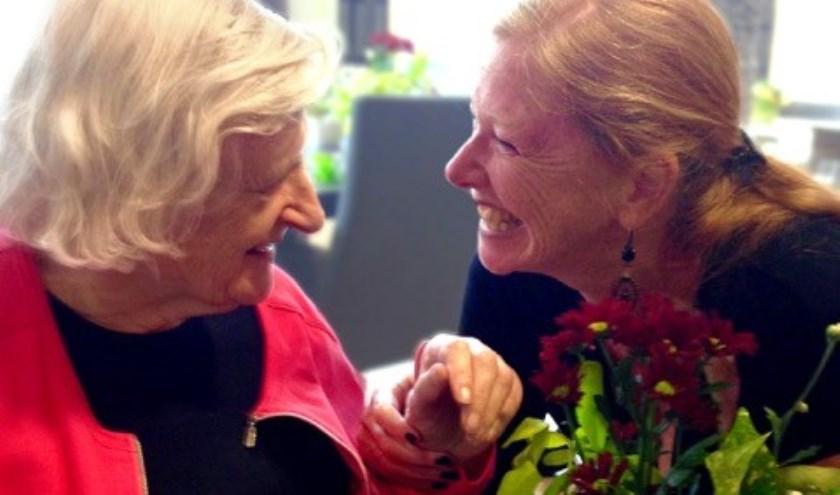 Het programma start met mantelzorger en auteur van het boek 'Mantelzorger der liefde' Ingrid Keestra.