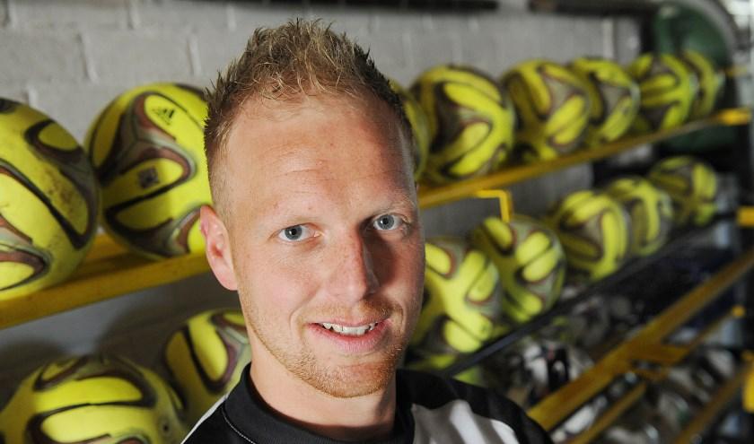 Niels Schweckhorst scoorde 3x voor GWVV.