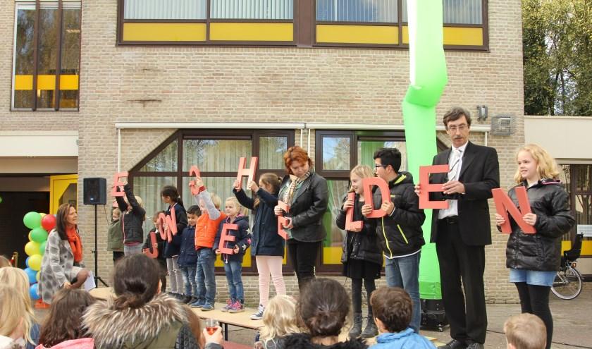 Een paar van De Jonge Helden op een rij... Foto: José Bouwhuis