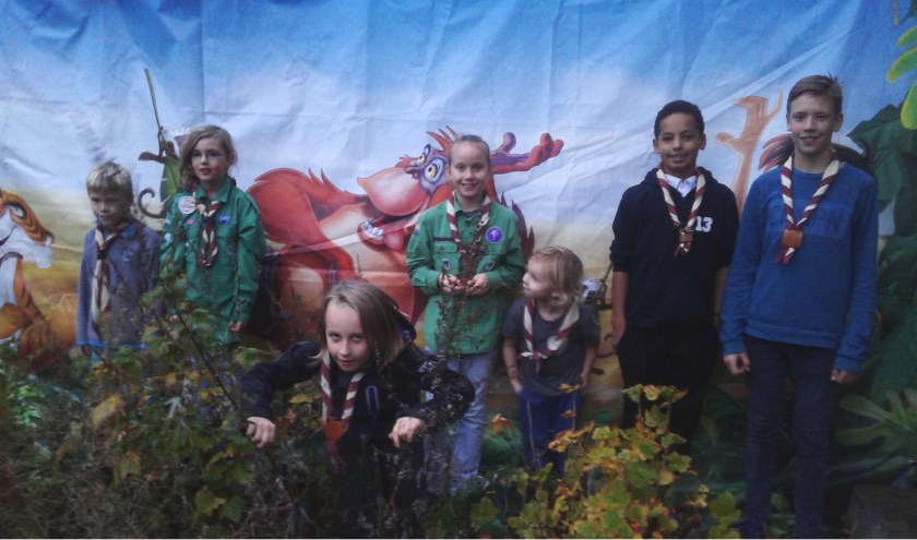 Altijd grote pret voor jongeren bij de scouting