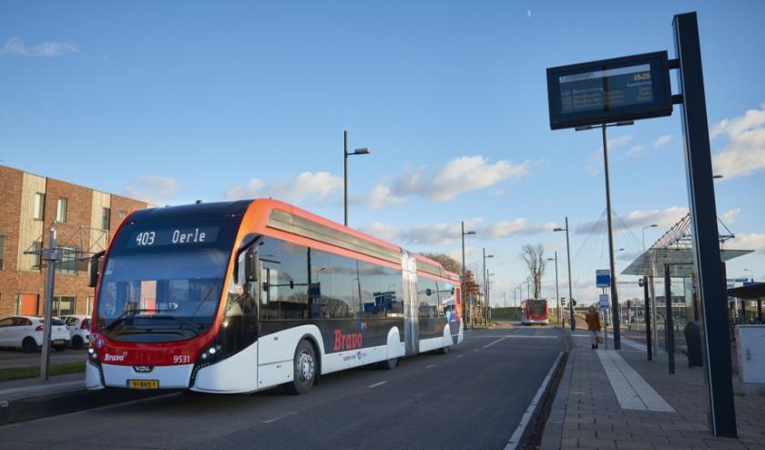 Arriva (Oost- en West-Brabant) en Hermes (Zuidoost-Brabant) rijden volgens een aangepaste dienstregeling.  FOTO: Hermes.