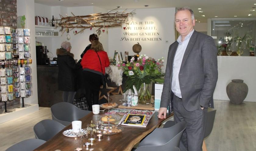Voor eigenaar Van Oostrum zijn alle momenten van het leven belangrijk. (Foto: Lysette Verwegen)