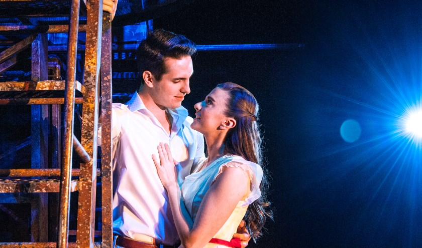 Kevin Hack in zijn rol van Tony in West Side Story. Foto: Susanne Brill.