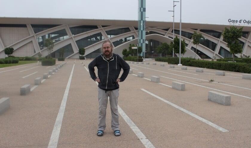 Op weg naar huis vanaf Oujda. Casablanca is het enige vliegveld dat nog open is.