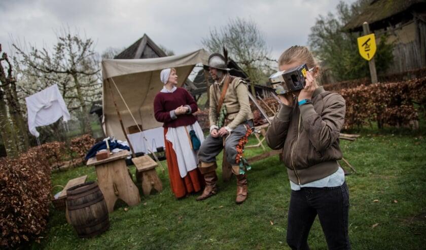 Archieffoto van het preHistorisch dorp, dat genomineerd is. (Foto: Michel de Heer).