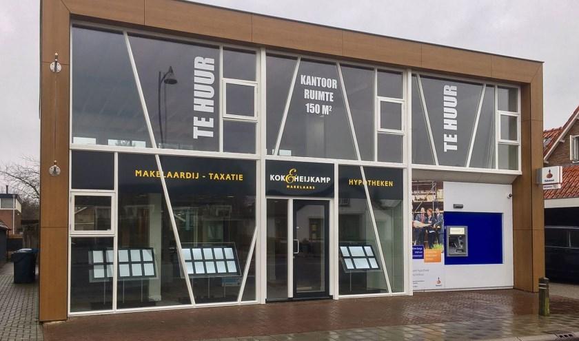 Kok & Heijkamp Makelaars opent deze week een vestiging in 't Harde.