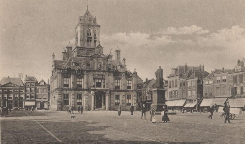 De MArkt in 1915.