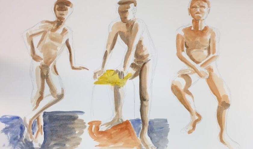 <p>Voorbeeld uitwerking tekenles - Niels Janssen</p>