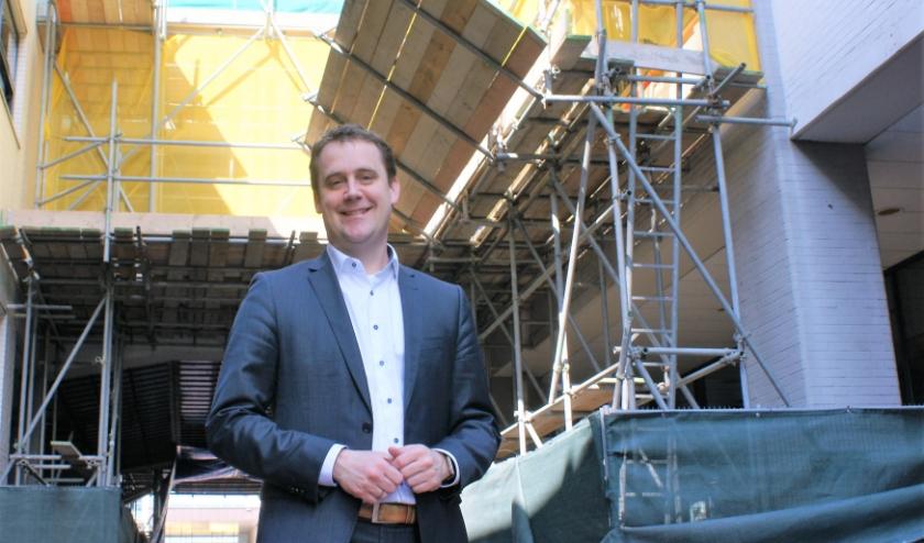 Wethouder Marc Rosier is verantwoordelijk voor zichtbare veranderingen in de stad