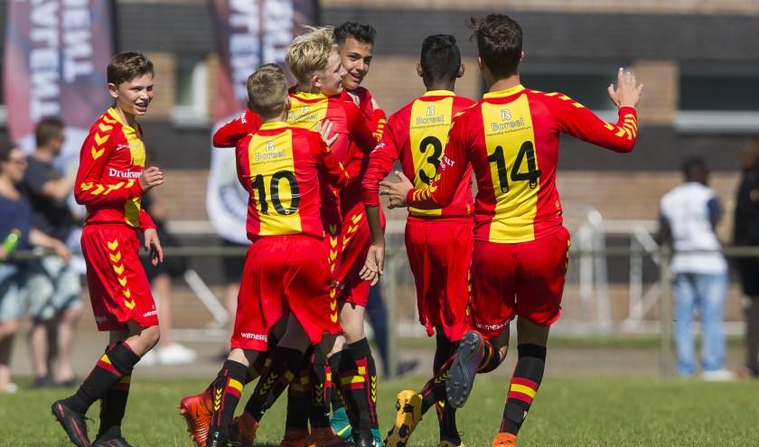 Go Ahead Eagles Onder-17, Onder-14 en Onder-13 hadden afgelopen weekeinde alle reden tot juichen. (Foto: Erik Pasman)