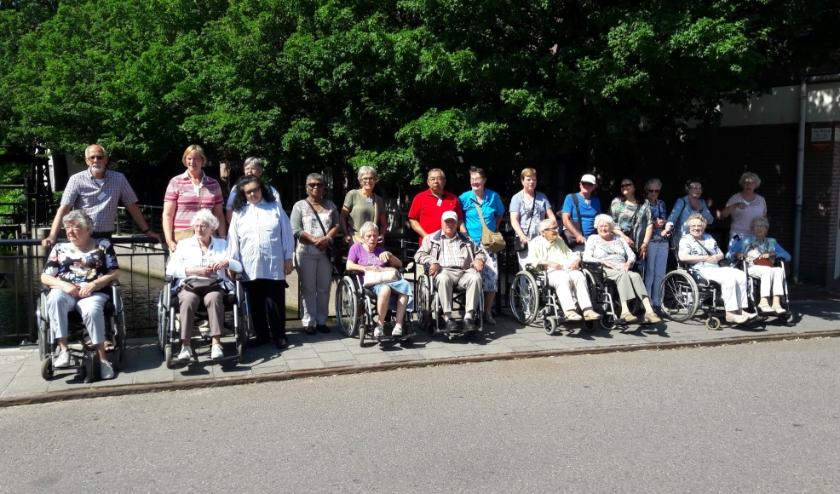 Gasten van de Zonnebloem gaan graag op pad