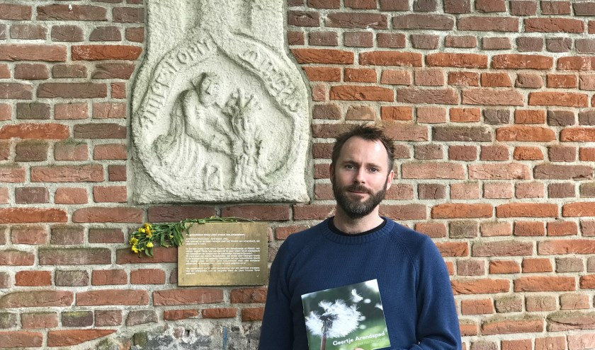 'Minister van Geluk' Wilco Kruijswijk bedacht het het Gelukkigerwijspad. (Foto: Janneke Kruijsweijk-Terlouw)