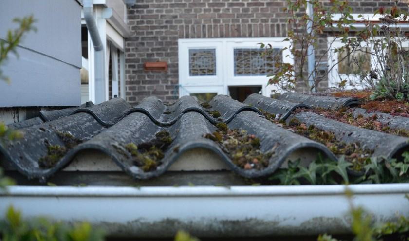 Er zijn in Breda nog altijd ruim 4.000 schuurtjes en bijgebouwen met een asbest dak, zo blijkt uit luchtfoto's.