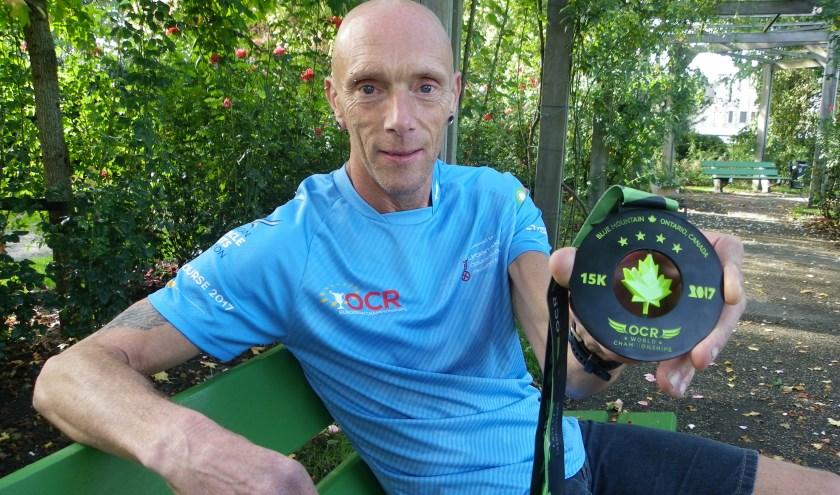 Aart den Hollander doet deze week mee aan de WK Obstacle Course Racing In Engeland. Vorig jaar werd hij 19e, dit jaar wil hij een top 10 notering.
