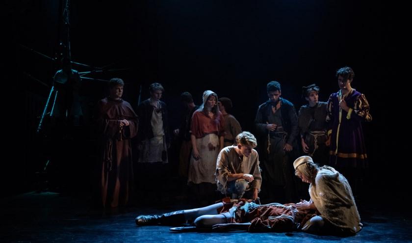 Kruistocht in Spijkerbroek van het Nationaal Jeugd Musical Theater is een mucial voor het hele gezin. Foto: Boy Hazes