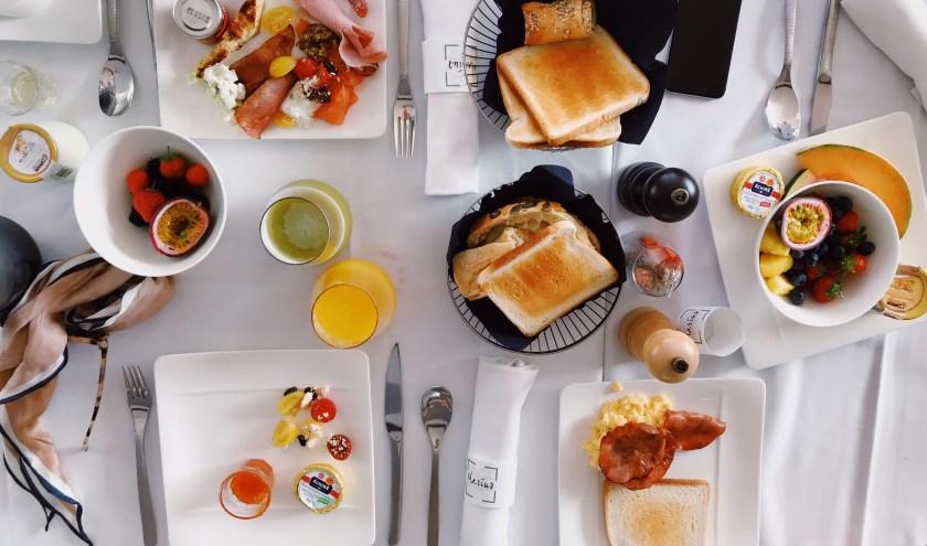 Dat scheelt tijd; ontbijten op school!