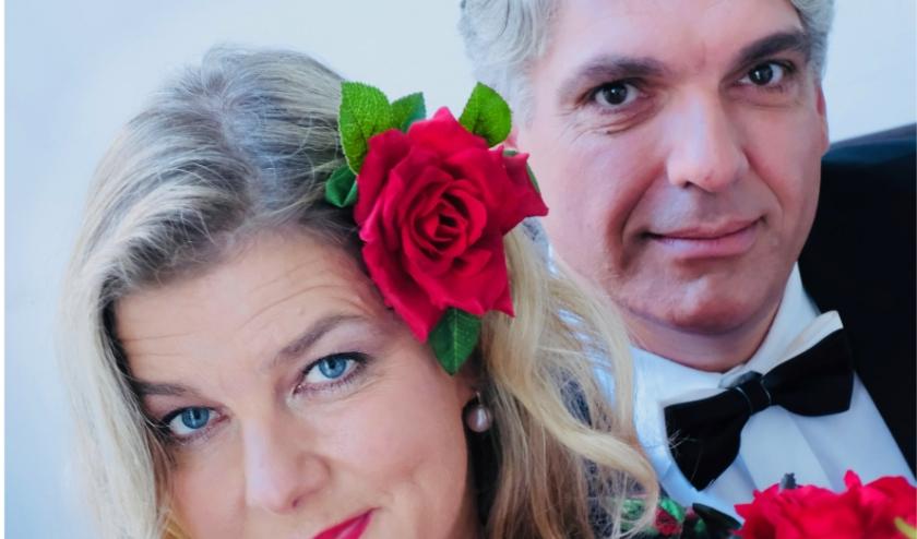 Ook Maaike Kitslaar en Jaap Somsen (Duo Route Soleil) konden niet optreden in het van Cappellenhuis.