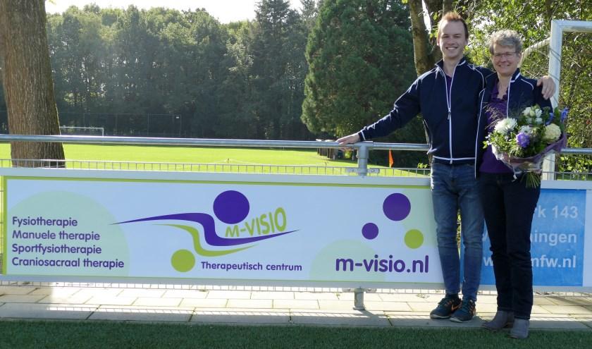 Onneke Boter en Klaas Komen van M-Visio. (foto: Eric Schouwenberg).