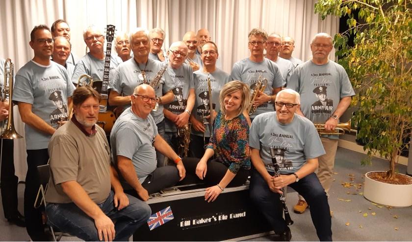 Zondagmiddag 11 november om 15.00 uur gaat Bill Baker's Big Band los in de Rijswijkse Schouwburg.
