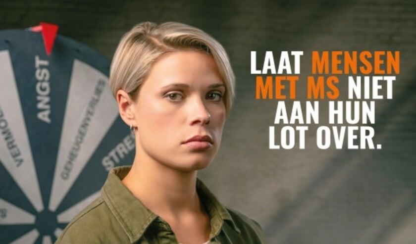 Het Nationaal MS Fonds zoekt collectanten in de regio, ook in Rijswijk. Foto Het Nationaal MS Fonds.