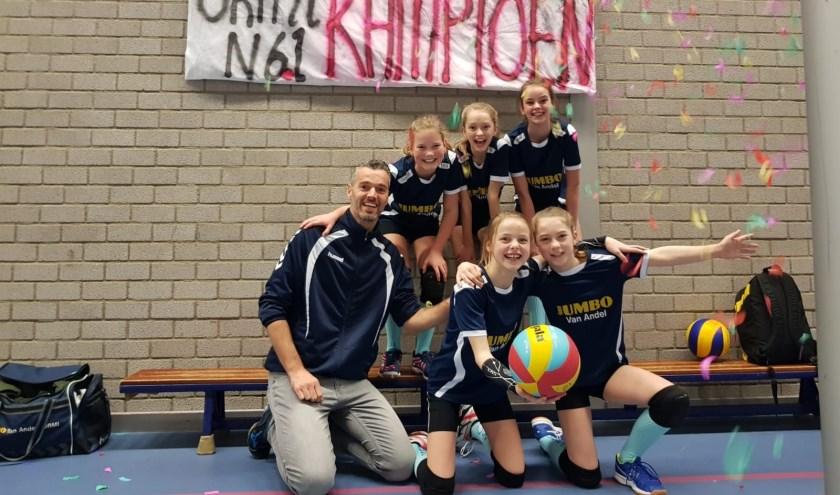 Met nog een speelronde voor de boeg is het N61-team van Jumbo van Andel ORMI-Epe kampioen geworden.