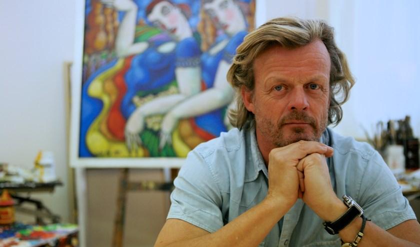 De Utrechtse kunstenaar John Noy exposeert: 'Een overzicht van 2000 tot heden'. Foto: Ton van den Berg.