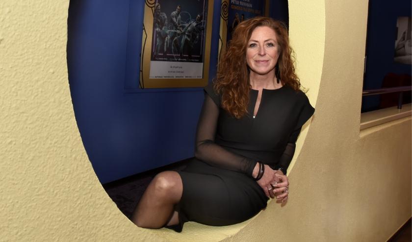 Goudse schouwburgdirecteur Tineke Maas is blij dat doel weer opgaat . Foto: Marianka Peters