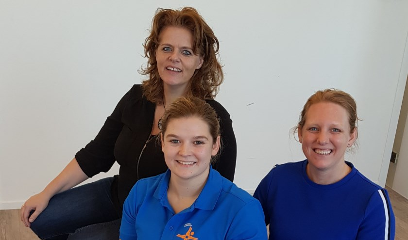 Het team dat het valpreventieprogramma in de Kruidenwijk uitvoert.