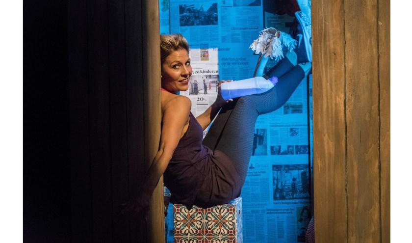 Mouna Laroussi leed aan een chronische darmontsteking. Foto: Moon Saris